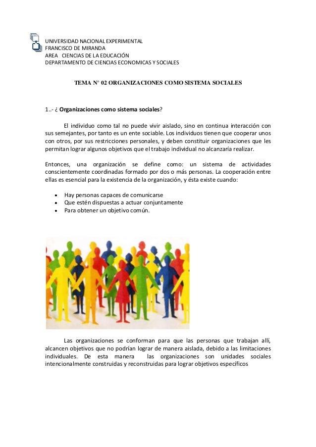 UNIVERSIDAD NACIONAL EXPERIMENTAL FRANCISCO DE MIRANDA AREA CIENCIAS DE LA EDUCACIÓN DEPARTAMENTO DE CIENCIAS ECONOMICAS Y...