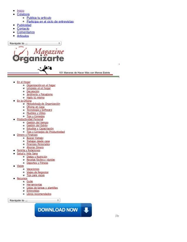 Organización en el hogar: como mejorar nuestras rutinas domésticas | organizarte magazine