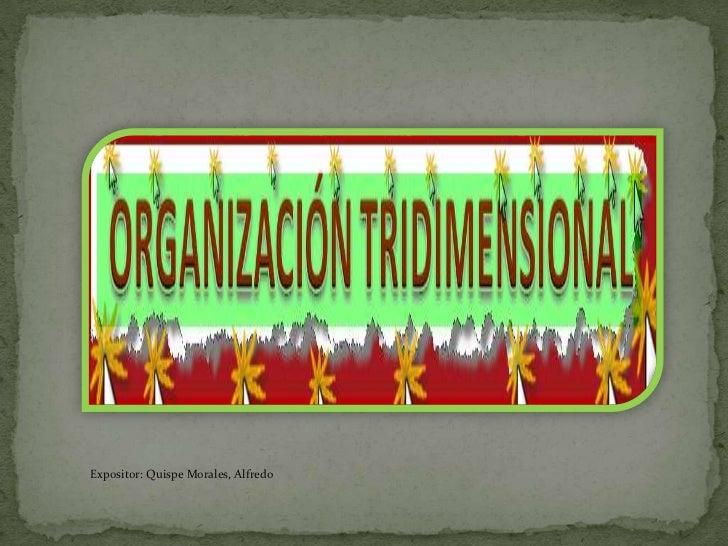 Expositor: Quispe Morales, Alfredo<br />