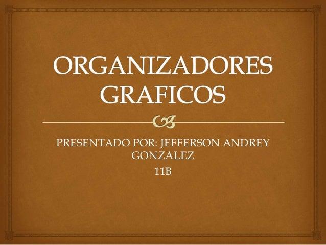 PRESENTADO POR: JEFFERSON ANDREY GONZALEZ 11B