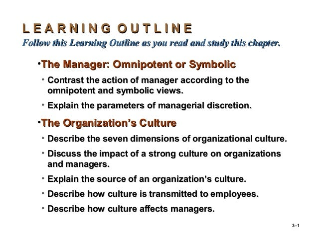3–1 L E A R N I N G O U T L I N EL E A R N I N G O U T L I N E Follow this Learning Outline as you read and study this cha...