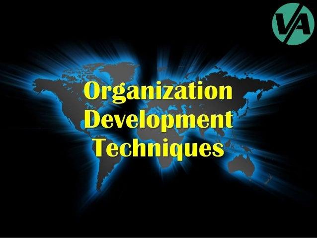 Organization Development Techniques