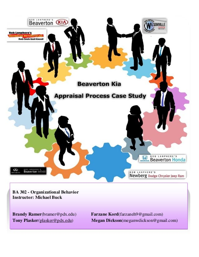 Organizational behavior performance appraisal paper
