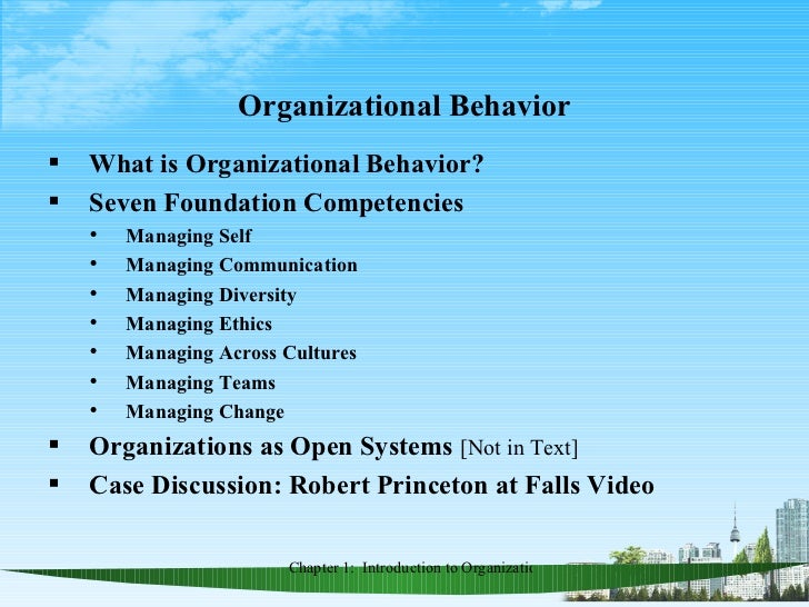 organizational behavior: managing conflict within the workplace essay Organizational behavior is the systematic study of people and their work within an organization understanding the definition itself will be useful for managers and leaders it will also be helpful for an individual to understand his behavior itself.