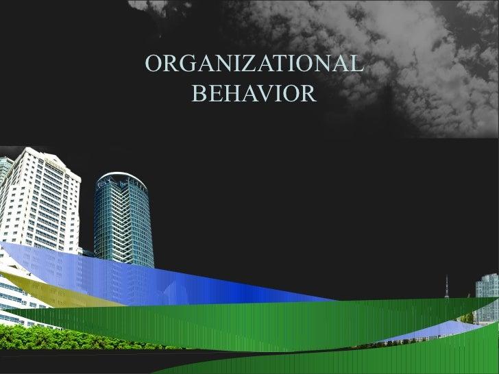 Organizational behavior ppt @ bec doms baglkot
