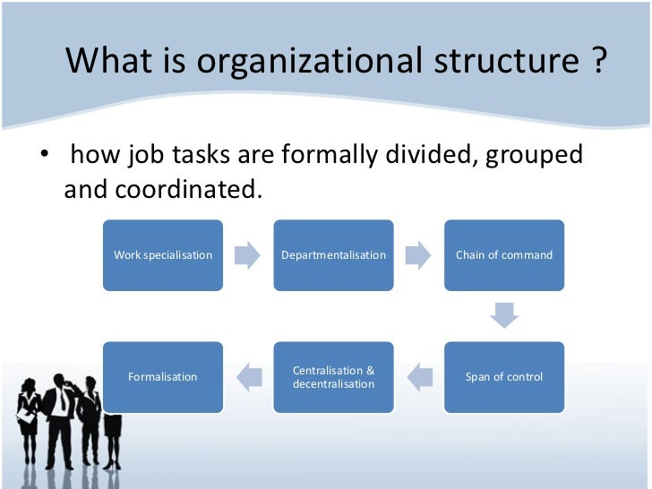You are going to create a sample project describing the organizational structure