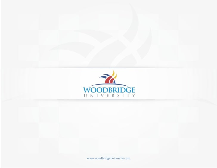 Woodbridge University Brochure