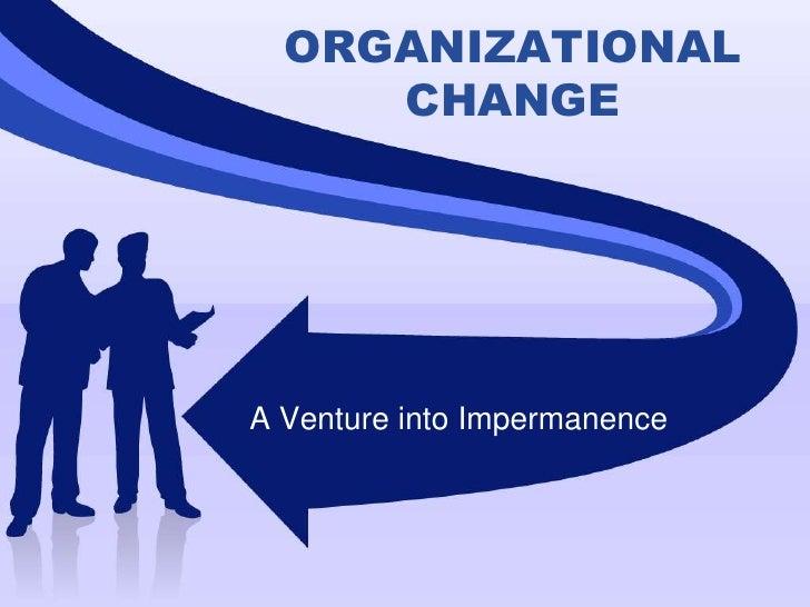 Change Dissertation Organizational
