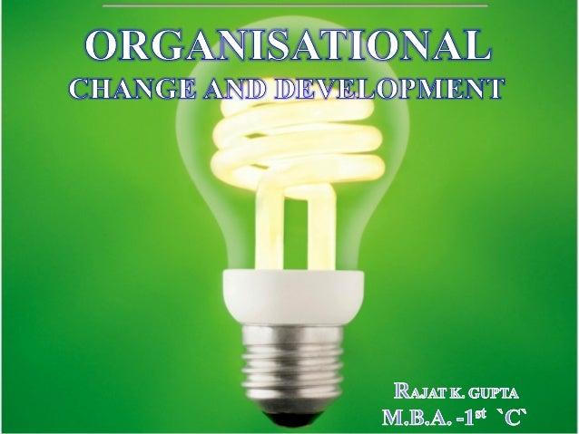 Facebook Organizational Change 14-1 Organizational Change