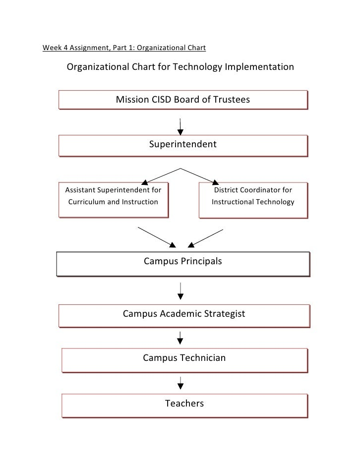 Organizational Chart And Action Plan