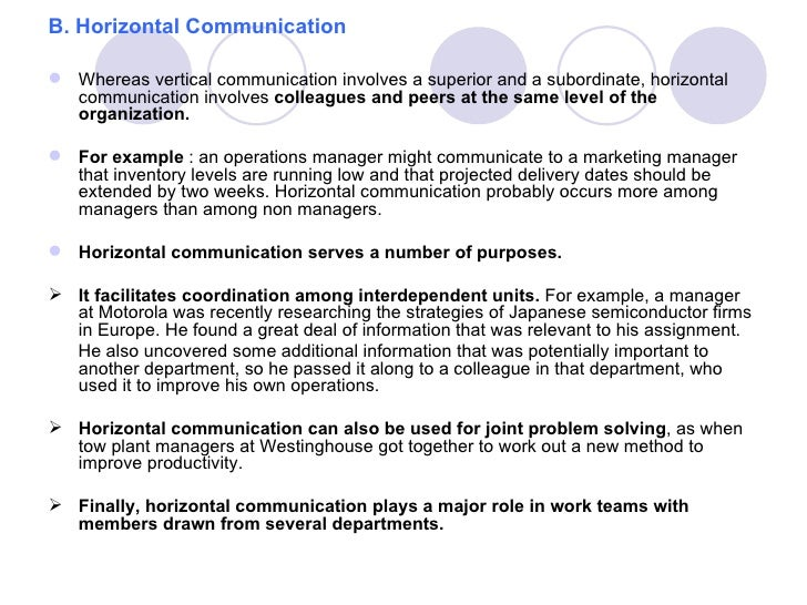 importance of vertical communication Police organization and administration achieve than vertical communication •is important because leadership involves.