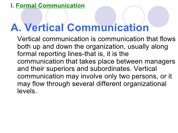 communication in an organisation