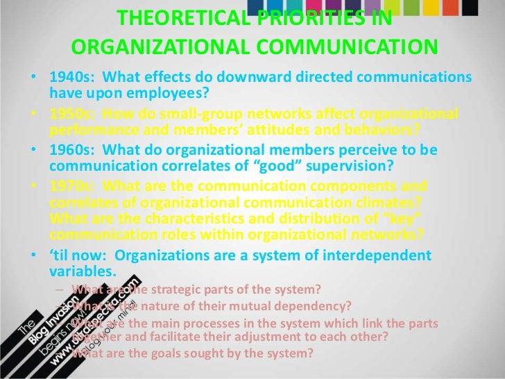 communication within organization essay