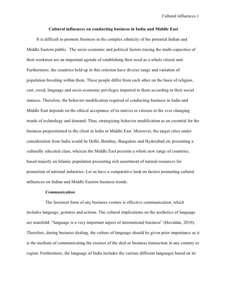 Impact Of Globalization On Indian Culture Essay - image 2
