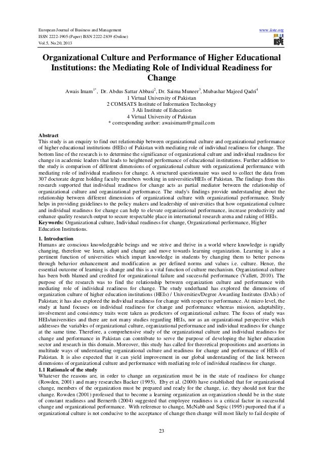 European Journal of Business and Management www.iiste.org ISSN 2222-1905 (Paper) ISSN 2222-2839 (Online) Vol.5, No.20, 201...