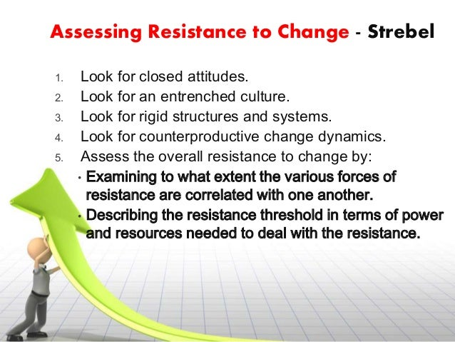 resistance to organisational change essay Change management is a method for reducing and managing resistance to change when  suitability of project management with organisational change initiatives essay.