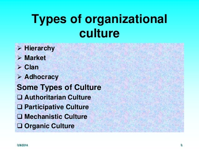 organizational culture of national university of I - organizational culture: university of north carolina at charlotte fourth national public management research conference.