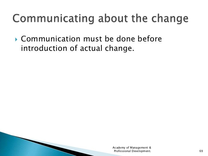 the impact of a communication system on the development of an organization Challenges to effective information and communication systems in  development and use of information and  systems across the organization when field offices.
