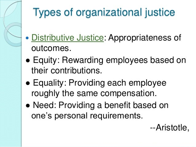 explore the benefits of procedural justice Explore this journal using the federal human capital survey 2008 data set, the authors find that two types of employee benefits, procedural justice.