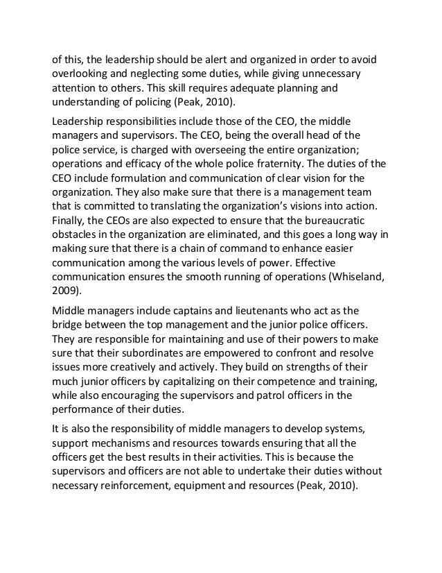 Example Management essay - UK Essays