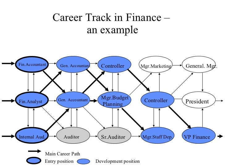 typical career path for accountant