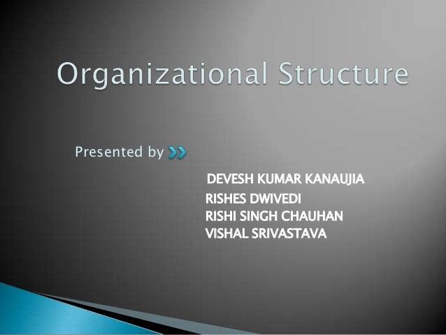 Organizational structure By Vishal Srivastava