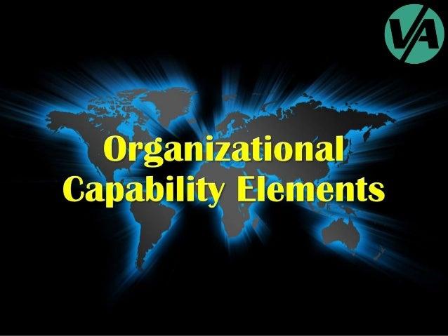 Organizational Capability Elements