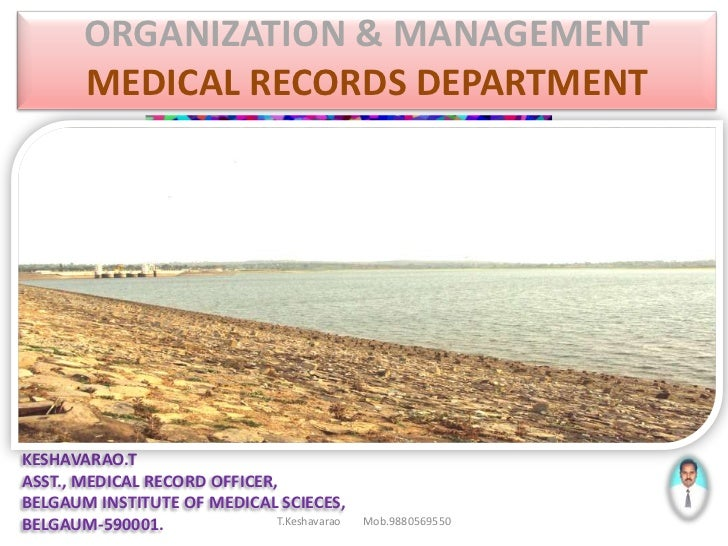 Organization & management of mrd part 3