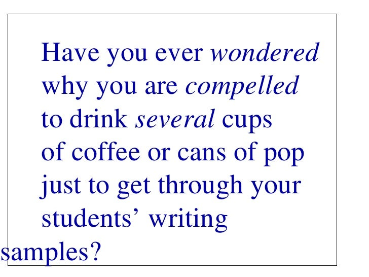 Have you ever  wondered   why you are  compelled   to drink  several  cups  of coffee or cans of pop  just to get through ...