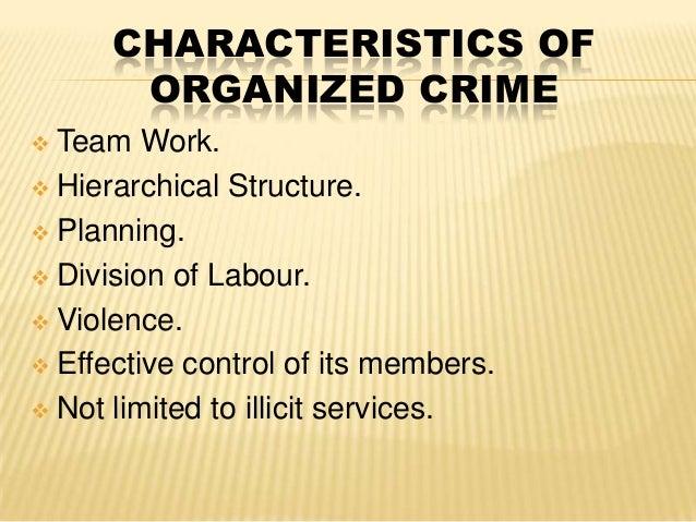 Organized crime  Wikipedia