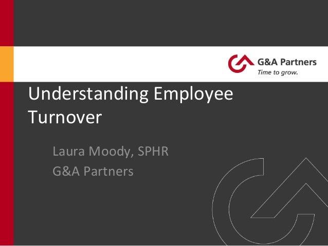 Understanding Employee Turnover