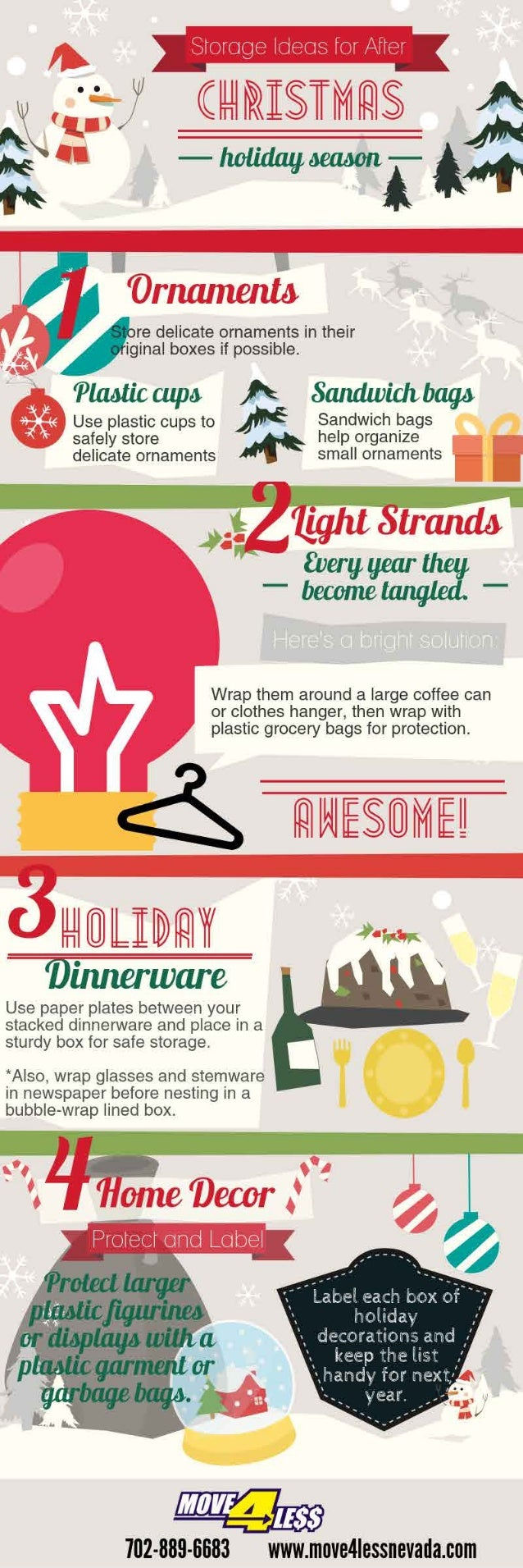 Storage ideas for your Christmas decorations