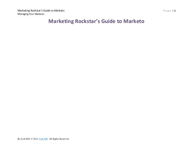 Naming and Organizing Your Marketo Instance