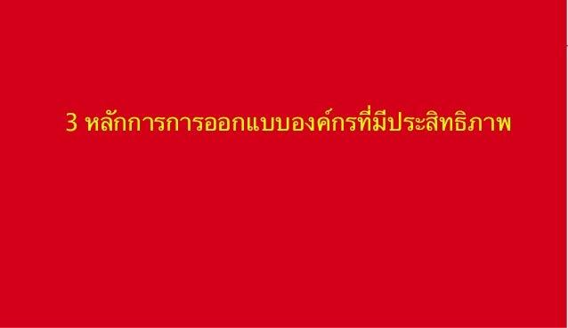 Organization theory and design   03 2013
