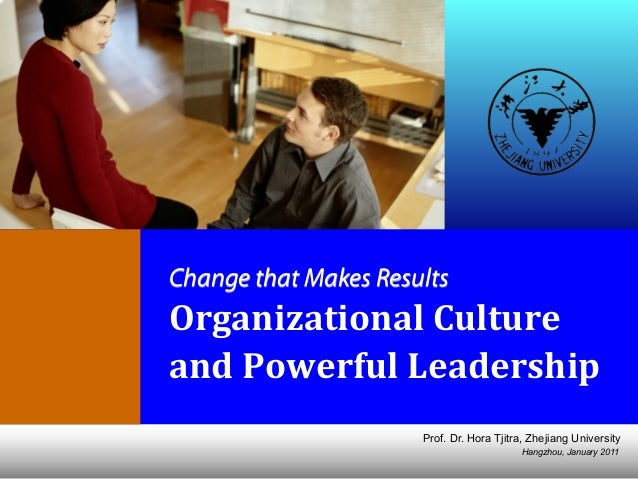 Organizational Effectiveness and Powerful Leadership (updated Jan 2011)