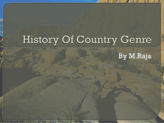 Country Music Genre Background By M.Raja