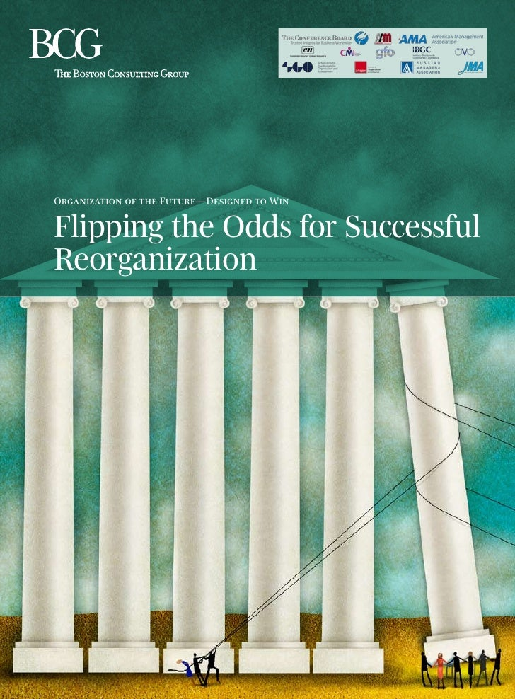 Organization of the Future—Designed to WinFlipping the Odds for SuccessfulReorganization