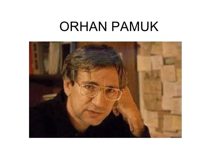 Preparing an album about Orhan pamuk