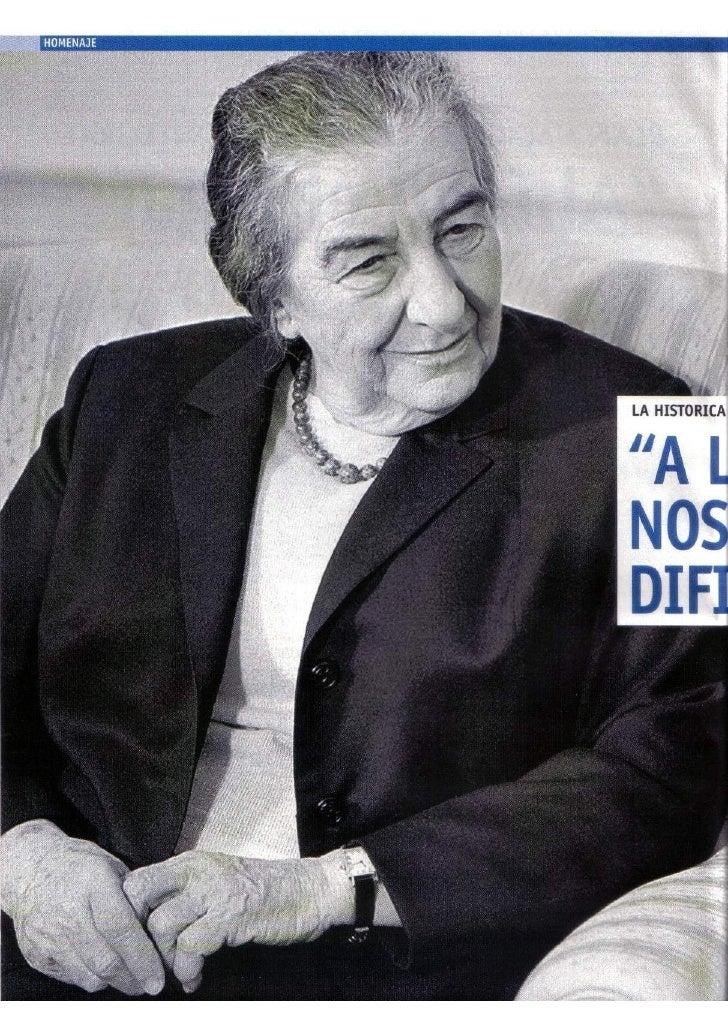 Oriana Fallaci Entrevista A Golda Meir 1972