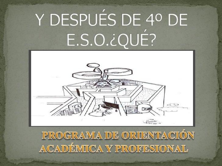 Departamento de Orientación   I.E.S. MIGUEL CRESPO    Curso 2011- 12