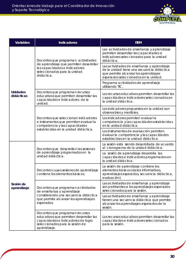 Orientaciones para coordinador pedagogico de jornada for Definicion periodico mural