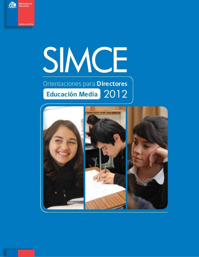 Orientaciones para Directores de Educacion Media 2012