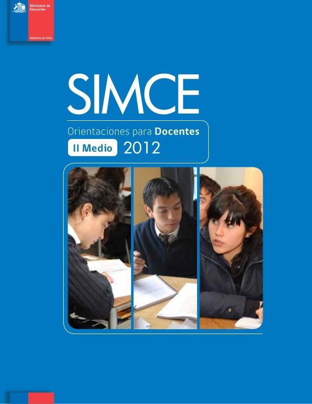Orientaciones para docentes_ii_medio_2012