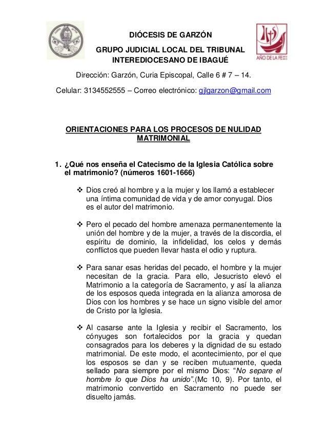 Matrimonio Catolico En Colombia Normatividad : Orientaciones sobre matrimonio y procesos de nulidad
