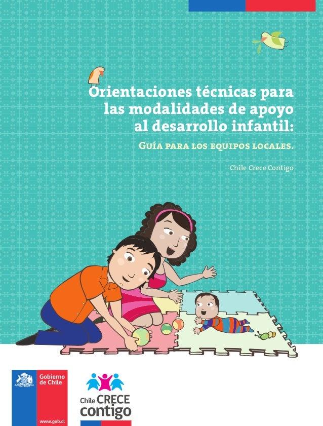 Orientaciones tecnicas para las modalidades de apoyo al desarrollo infantil  marzo 2013