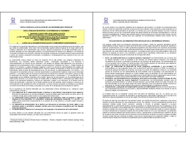Curso de Mejoramiento de la Capacidad Resolutiva para Médicos de Atención Primaria Módulo 3 : Hipertensión Arterial en el ...