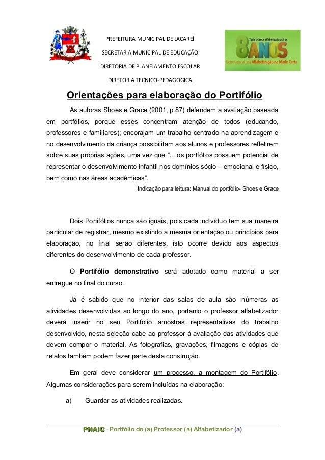 PREFEITURA MUNICIPAL DE JACAREÍ SECRETARIA MUNICIPAL DE EDUCAÇÃO DIRETORIA DE PLANEJAMENTO ESCOLAR DIRETORIA TECNICO-PEDAG...