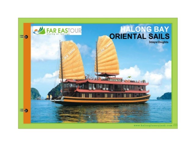 Oriental sails for 3 days