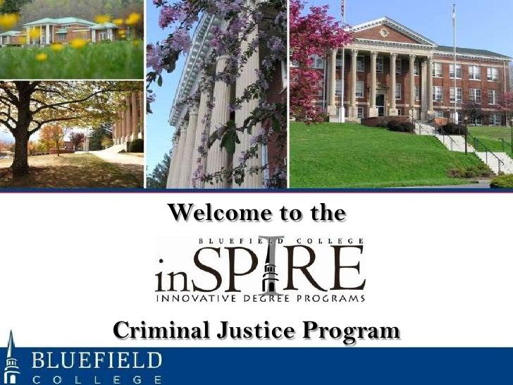 Orientation Criminal Justice Program Fall 2012 13 Subterm 1