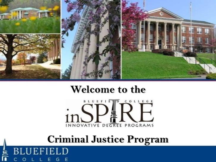Orientation Criminal Justice Program - October 22 2012